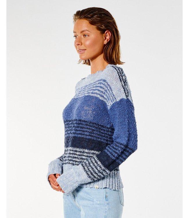 Rip Curl Drifter Sweater  - Blue Blauw