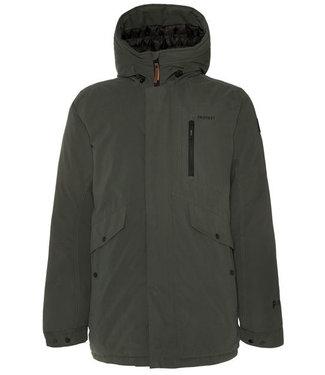 Protest KOMODON snow jacket - Huntergreen