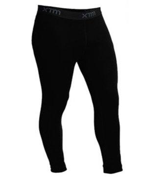 XTM Mens Merino 3/4 Pant Black Black