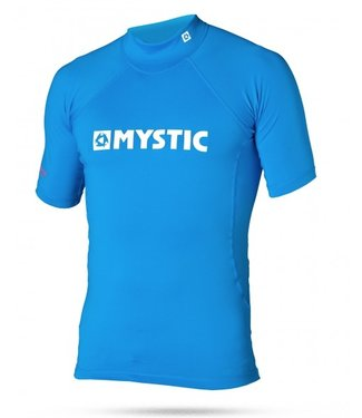 Mystic Star Rash Vest SS Kids Blue Blue
