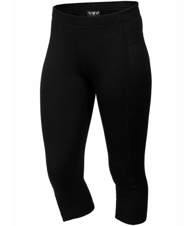 XTM Mens Merino 3/4 Pant Black