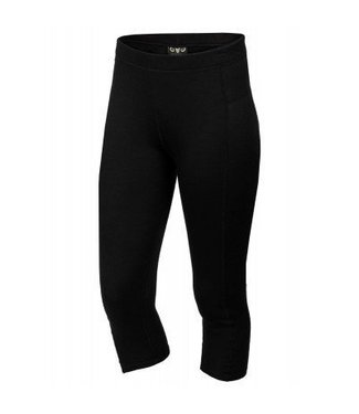XTM Ladies Merino 3/4 Pant Black Black