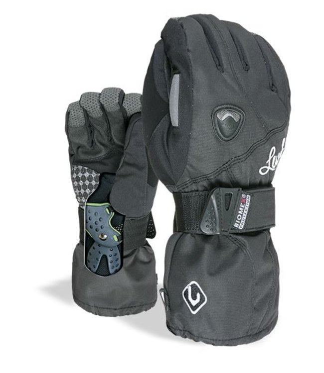 Level Glove Wmns Butterfly Black Black