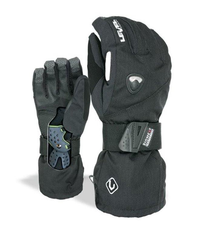 Level Glove Fly Black Black