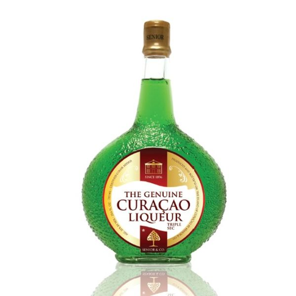 Curacao Liqueur Green 375ml