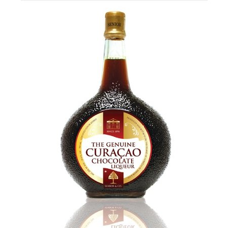 Curacao Liqueur Curacao Liqueur Choco  NOW WITH A 50% DISCOUNT IN CONNECTION WITH LIGHT FAT EDGE IN THE BOTTLE