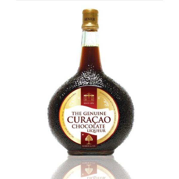 Curacao Liqueur Choco 375ml