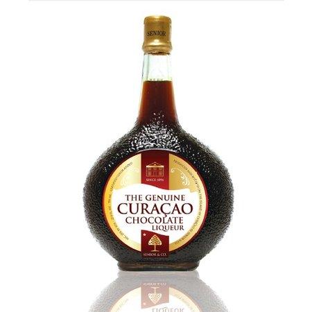 Curacao Liqueur Choco 750ml