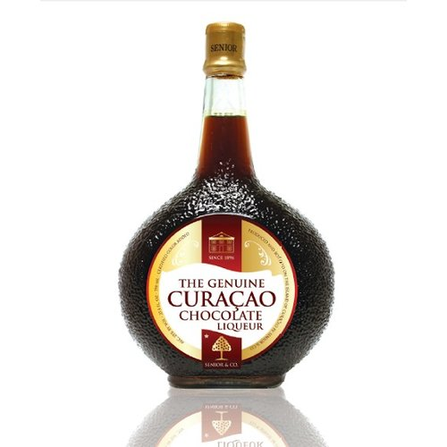 Curacao Liqueur Choco 750ml  NOW WITH A 30% DISCOUNT IN CONNECTION WITH LIGHT FAT EDGE IN THE BOTTLE