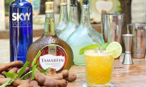 Cocktail recipe - Dushi Tamarèin
