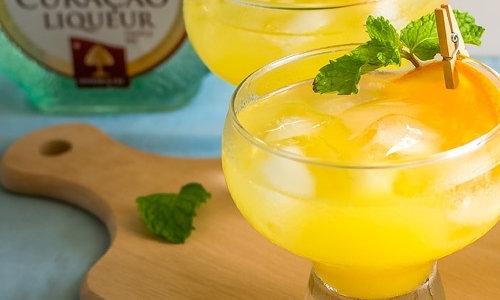 Cocktail recipe - Orange Margarita