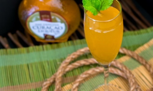 Cocktail recipe - Sparkling Mai Tai