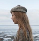 Fishersman's hat made of Waddenwol, grey