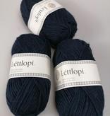 LettLopi wol, kleur 9420 donkerblauw
