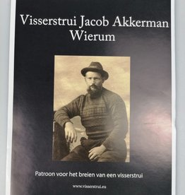 Knitting patern fisherman's jumper Jacob Akkerman from Wierum