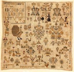 Merk-/letterlap 1701 patroon