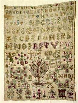 Patroon merklap 1716
