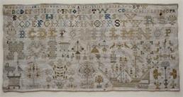 Patroon borduurlap 1718