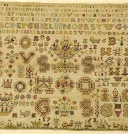 Patroon merklap 1761 Geeske Zuidema