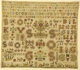 Pattern Letter patch 1761