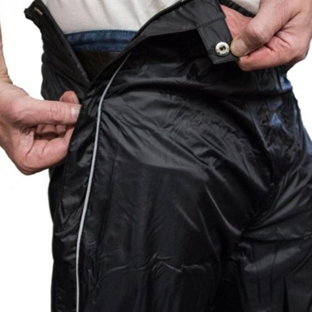 Mac in a Sac Regenbroek - Full Zipper - 100% waterdicht (10.000mm) - Ademend (8.000G/M²) PFAS vrij!