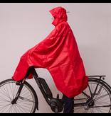 Lowland Outdoor LOWLAND OUTDOOR® fietsponcho 100% waterdicht (10.000mm) - ademend (8.000g/M²) PFAS vrij!