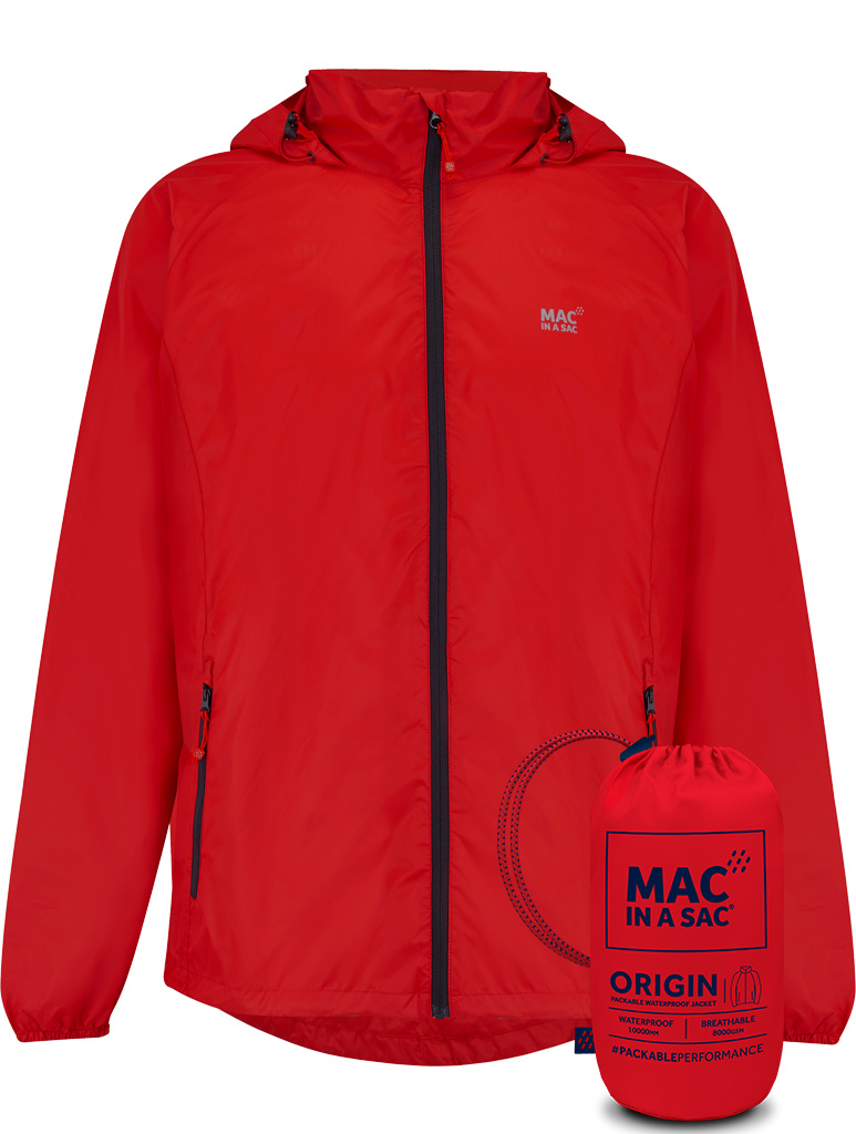 Mac in a Sac Mac in a Sac – Regenjas - Red