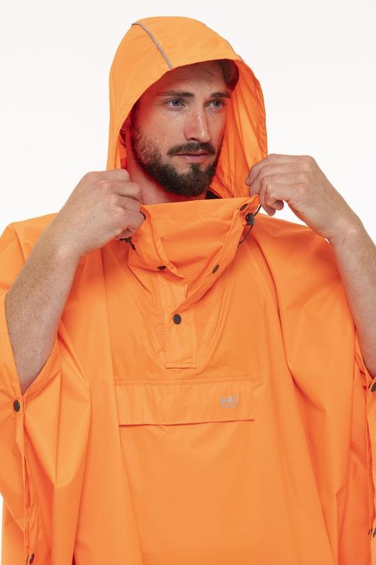 Mac in a Sac Regenponcho Neon Orange