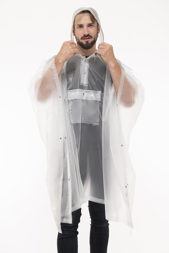 Mac in a Sac Regenponcho Transparent