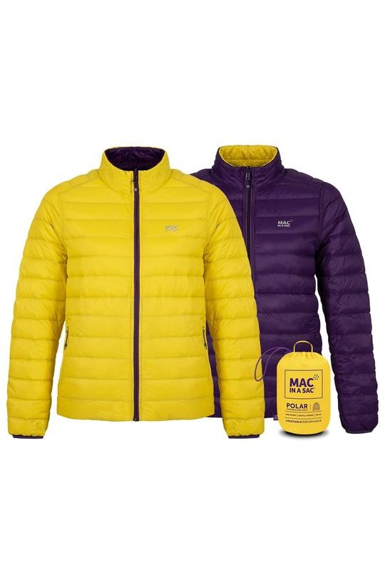 Mac in a Sac POLAR Donsjas Yellow / Grape - Woman
