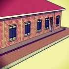 Schulgebäude-Erweiterung