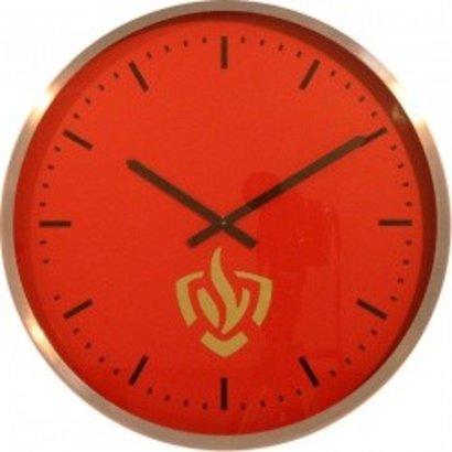 Fire brigade station clock