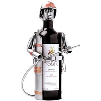 Bottle holder fire fighter