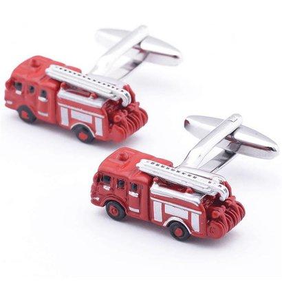 Fire truck cufflinks