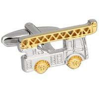 Cufflinks ladder fire brigade
