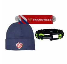 Combideal: hat + car sign + firefighter paracord black