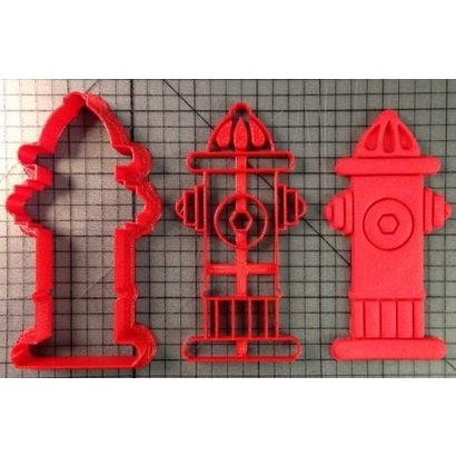 Cookie cutter fire hydrant (high details)