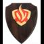 Brandweer wapenschild 3D