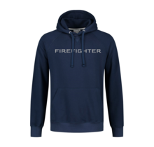 Hooded sweater firefighter