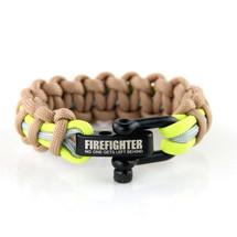 Firefighter Paracord Bruin/Beige