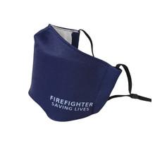 Brandweer mondkapje blauw