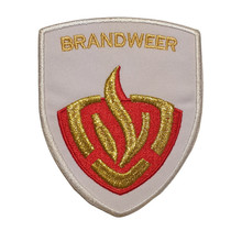 Fire brigade patch white