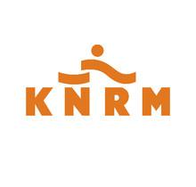 KNRM sticker zelfklevend vinyl