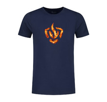 Brandweer t-shirt vlammend logo