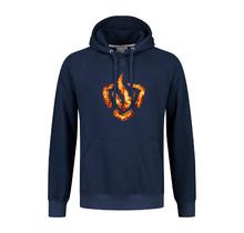 Brandweer trui vlammend logo