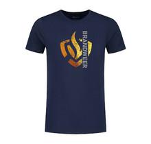 T-shirt goud brandweerlogo