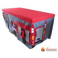 Firetruck table tent