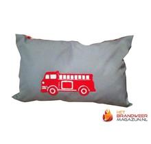 Firetruck pillow