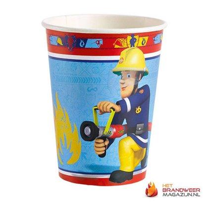 Brandweerman Sam Feestbekers 8 st.