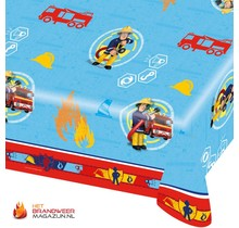 Fireman Sam tablecloth